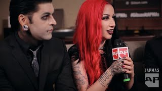 APMAs 2015: New Years Day interviewed in the Gibson Backstage Lounge