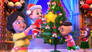 Christmas songs | santa claus toy factory | Xmas - nursery rhymes from Jugnu kids