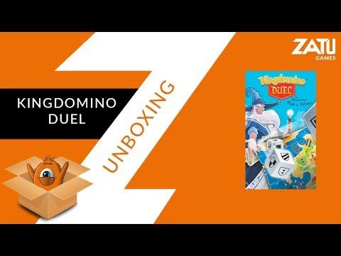 Kingdomino Duel Unboxing