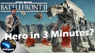 How To: Get Hero fast [Galactic Assault] Star Wars Battlefront II