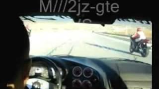 BMW M3  moteur supra 2jzgte VS hayabusa