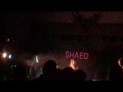 Shaed - Thunder- The Visulite Theater Charlotte Sunday 7/9/17 - Opening Song