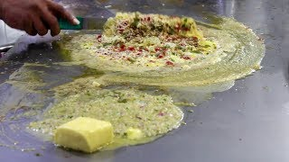 BUTTER FLOODED DELICIOUS EGG DISHES in Indian Style | Indian Street Food
