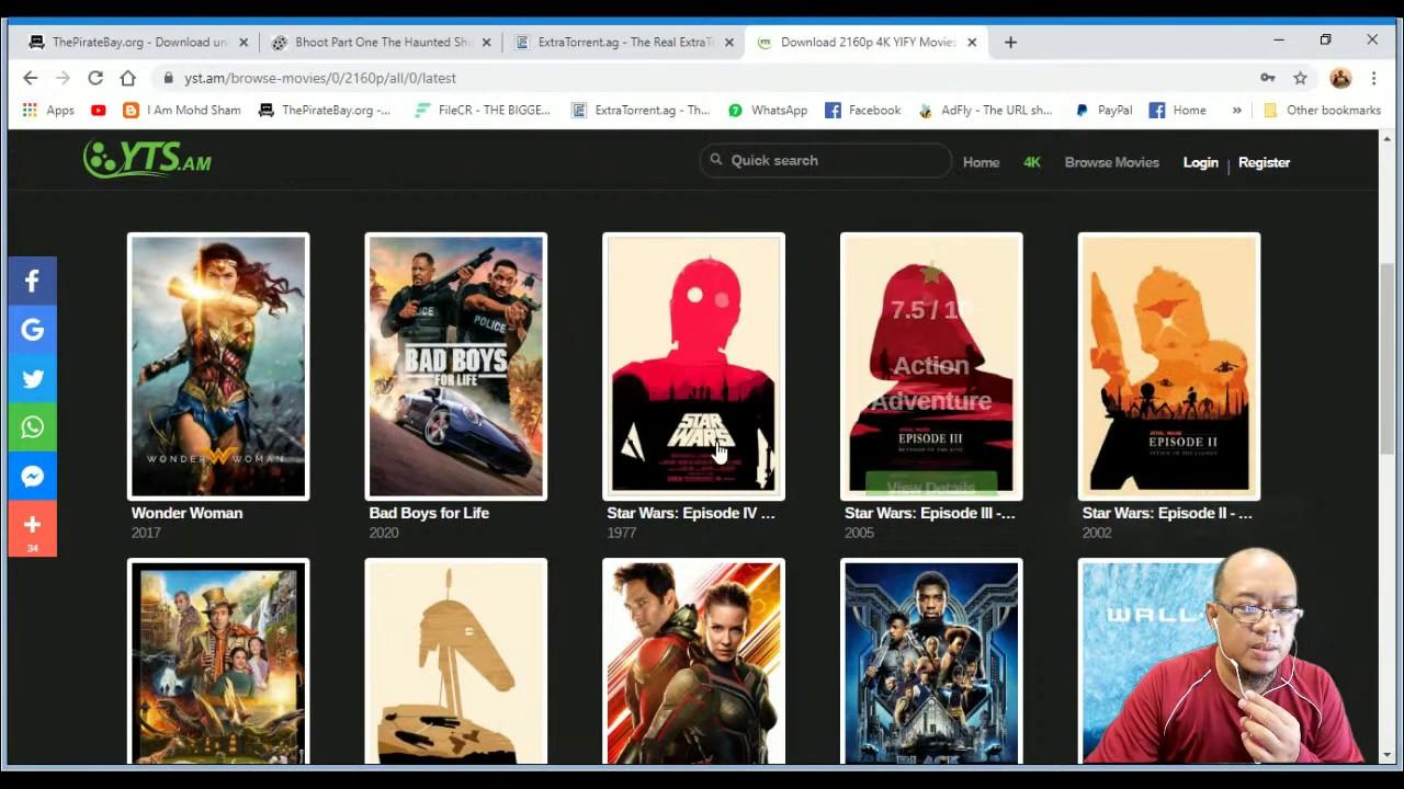 Download Tips mendownload movie semasa PKP
