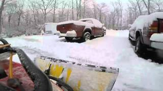 Some lessons learned - 2005 Arctic Cat 650 V-Twin with plow attachment - 02-15-2016