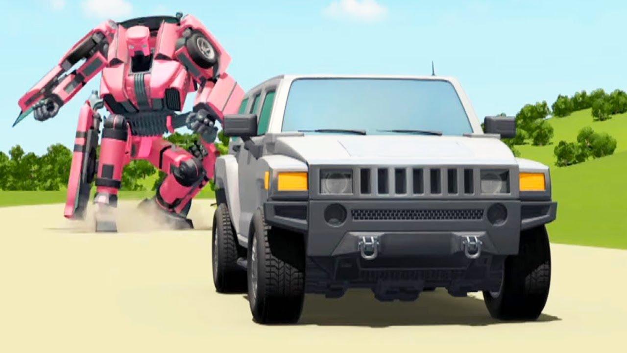 ТОБОТ - Атлон - Масло в огонь (6 серия 3 сезон) | Машинки Трансформеры | Внедорожные гонки