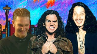 Chris Cornell, Layne Staley and Eddie Vedder interviewed  at 1991'S RIP party