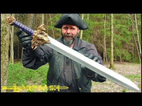 Larp Weapon Review - Aslan Sword by Mitryl