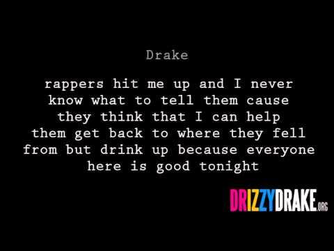 Drake - Thank me now Lyrics [VIDEO]