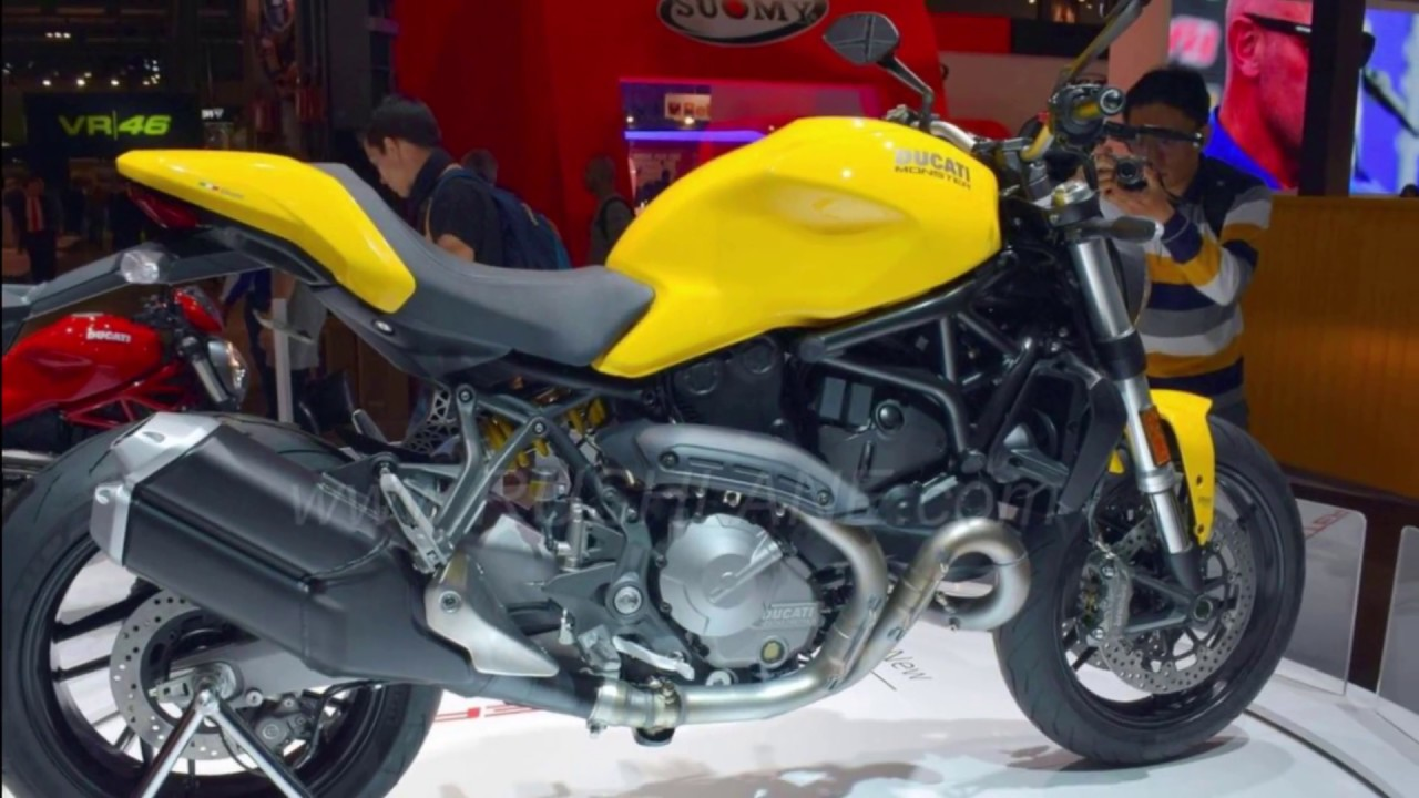 2018 ducati monster 821 at 2017 eicma youtube. Black Bedroom Furniture Sets. Home Design Ideas