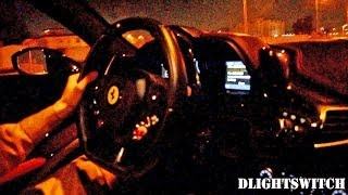 458 Italia Ride with Supercar Flybys & Revving
