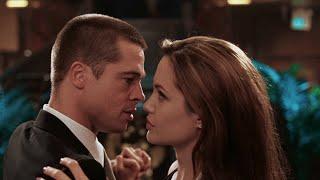 """Танец Джон и  Джейн - """"Мистер и миссис Смит"""" отрывок из фильма"""