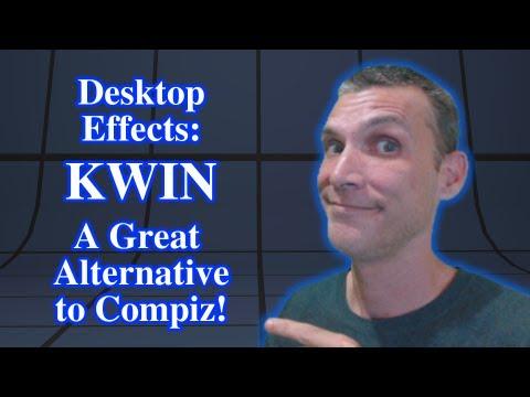 Desktop Effects: KWIN - A Great Alternative to Compiz