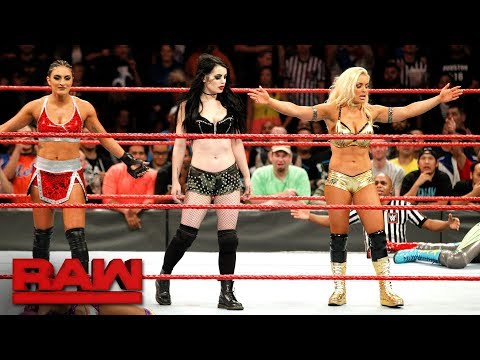 Thumbnail: Paige returns to WWE alongside Raw newcomers Mandy Rose and Sonya Deville: Raw, Nov. 20, 2017