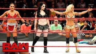 Paige returns to WWE alongside Raw newcomers Mandy Rose and Sonya Deville: Raw, Nov. 20, 2017 thumbnail
