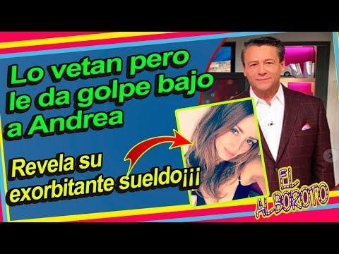 Se va de Televisa pero antes deja en evidencia a Andrea Legarreta. Alfredo Adame