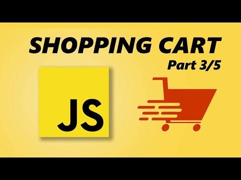 JavaScript Shopping Cart Tutorial - Part 3/5