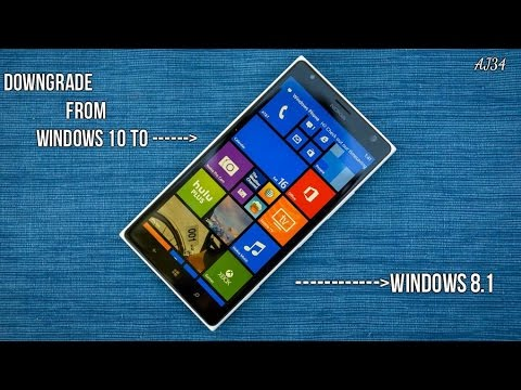 How To Downgrade Rollback From Windows 10 To Windows 8 1 YouTube