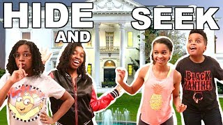 EPIC HIDE AND SEEK IN MANSION! - Onyx Family