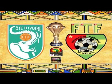 PS4 PES 2017 Gameplay Ivory Coast vs Togo HD