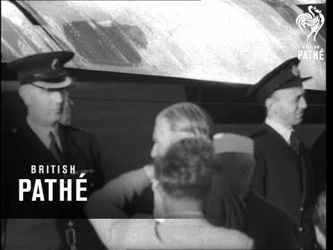 Arrival Of Mr Nehru In England (1955)
