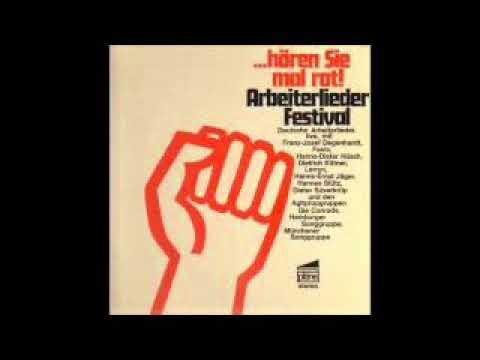 Hören Sie mal rot : Arbeiterlieder-Festival