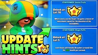 Brawlers With Two Star Powers? - UPDATE HINTS In Brawl Stars!
