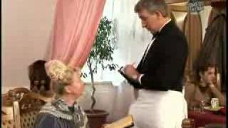 Milf on Blonde cock gags