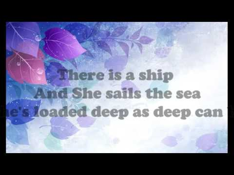 The Water Is Wide - Karaoke Lyrics |Guitar Accoustic