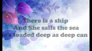 The Water Is Wide - Karaoke Lyrics |Guitar Accoustic.