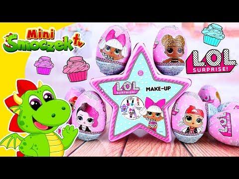 L.O.L. Surprise Jajka Niespodzianki I Kosmetyki!!! Zabawki Bajki Dla Dzieci Po Polsku
