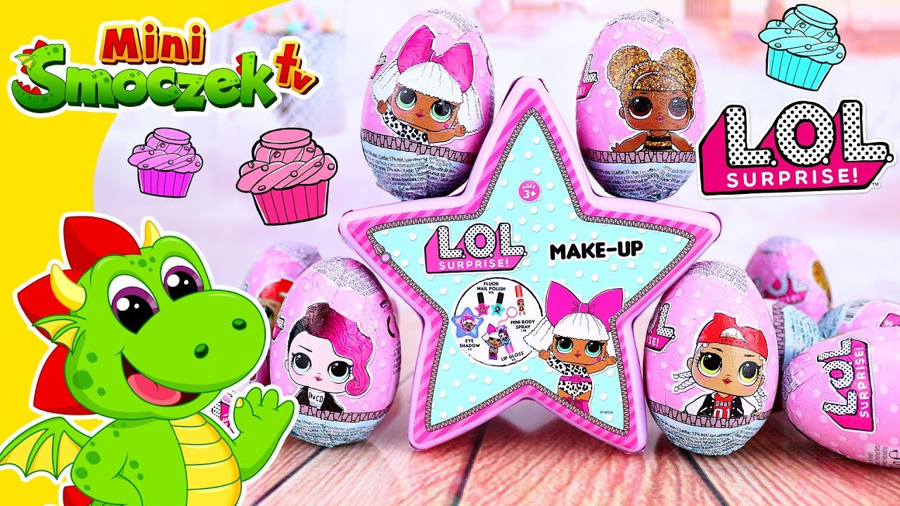Lol Surprise Jajka Niespodzianki I Kosmetyki Zabawki Bajki Dla