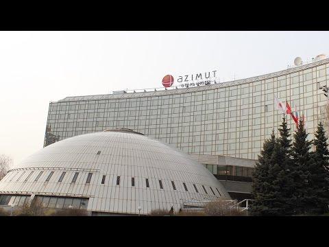 Видео отзыв об отеле Azimut Moscow Olympic Hotel