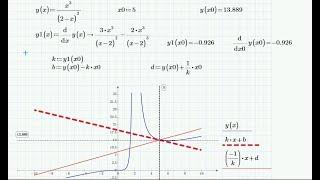 Задача: Касательная и нормаль к графику функции