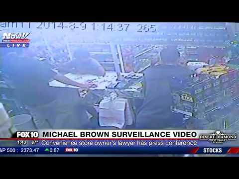 JUST RELEASED: Unedited Surveillance Videos of Michael Brown