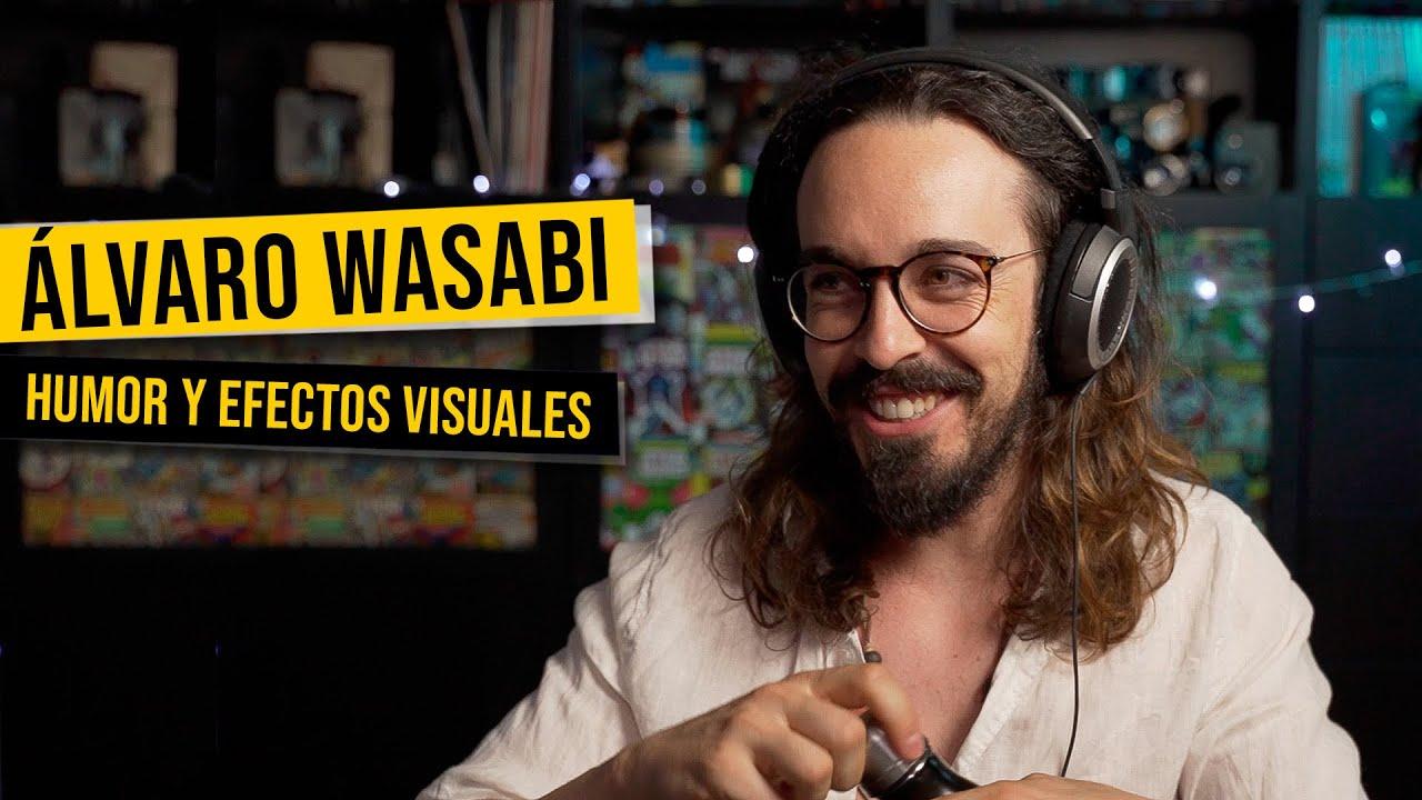 """Entrevista a @Alvaro Wasabi : """"Me he COLADO en mis PELÍCULAS FAVORITAS!"""""""