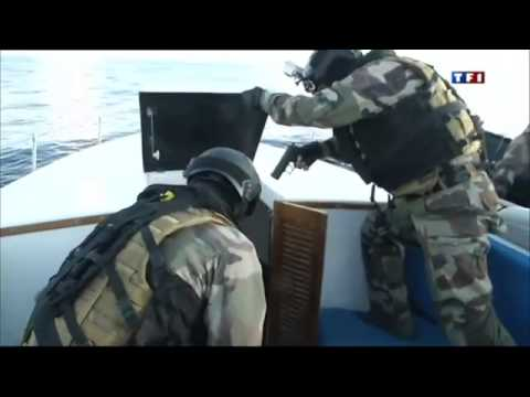 Entraînement des commandos anti-drogue en Martinique - Reportage TF1-23 09 13