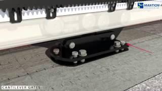 Hướng dẫn lắp đặt  hệ thống ray trượt cửa cổng cao cấp  all