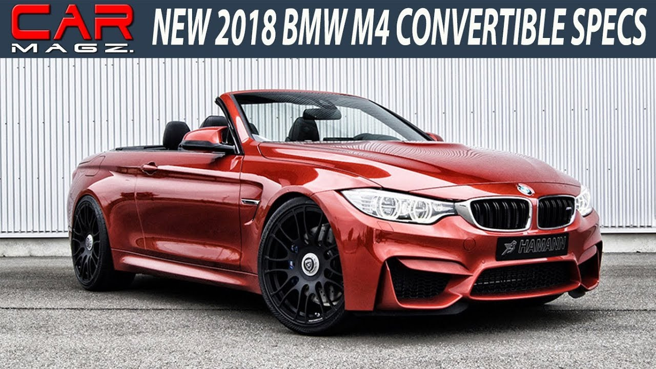 2018 bmw m4 convertible review and specs