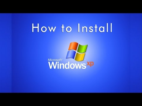 How to Install Windows XP || Formatting and Clean Installation