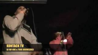 DJ Inf-One & True Knowledge 'On The Come Up' (LIVE)