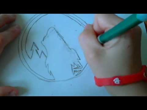 How To Draw A Timberwolves Logo Youtube