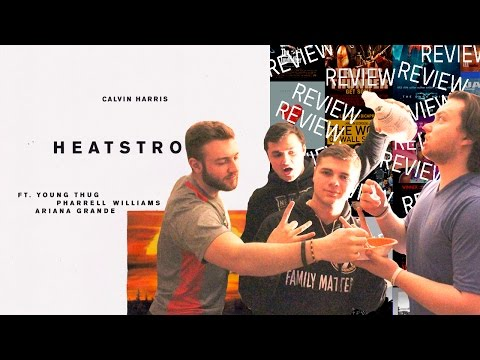 HEATSTROKE CALVIN HARRIS FEAT YOUNG THUG, PHARRELL & ARIANA GRANDE  ReactionReview