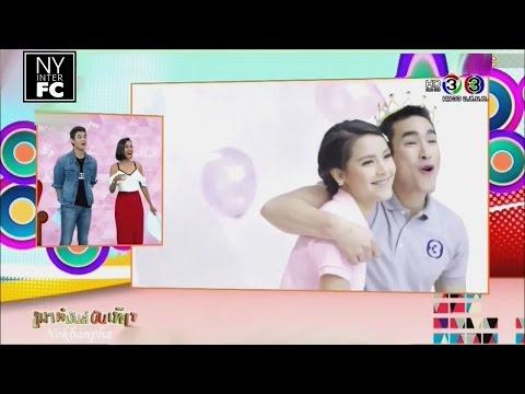 [ENG SUB] Nadech Yaya - Channel 3 'Happy Birthday' Music Video Making (BTS) | MMBT 9/3/16