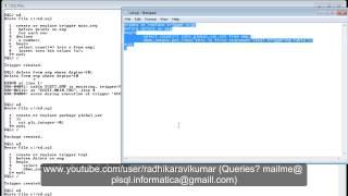 Pl/sql: Mutating Triggers Part-2