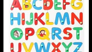 Учим Английский алфавит, Английские буквы для детей. Обучающее видео