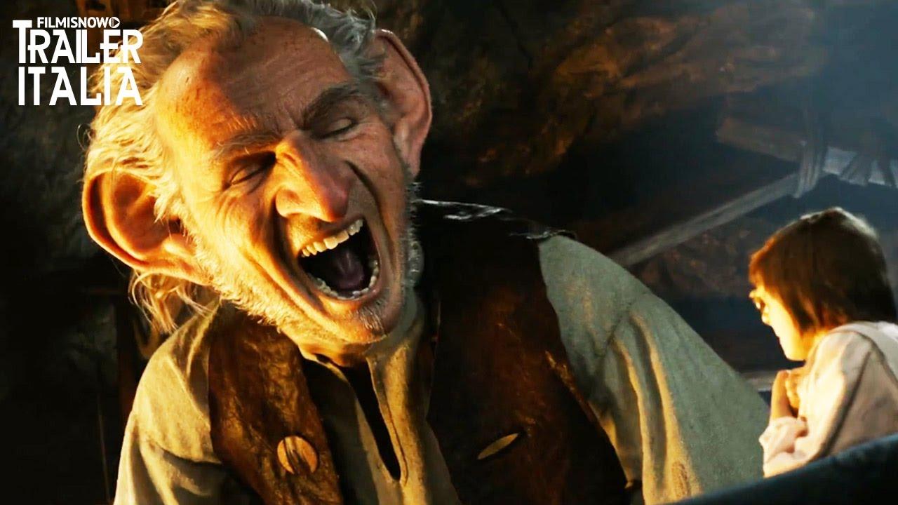 Il Ggg Il Grande Gigante Gentile Di Steven Spielberg Nuovo Trailer Italiano Hd Youtube