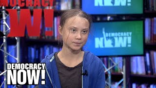 """I was kind of a troublemaker"": How Greta Thunberg became a climate activist"