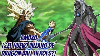 ¡El Poderoso Villano Amuzu! - Super Dragon Ball Heroes
