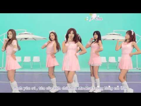 [Vietsub+Kara] Mr.Chu - Apink ( Japanese Dance Version )